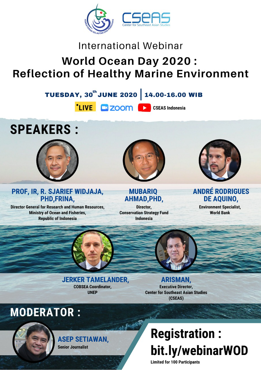 World Ocean Day 2020: Reflection of Healthy Marine Environment